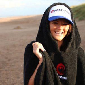 Beach Basha omkleed handdoek